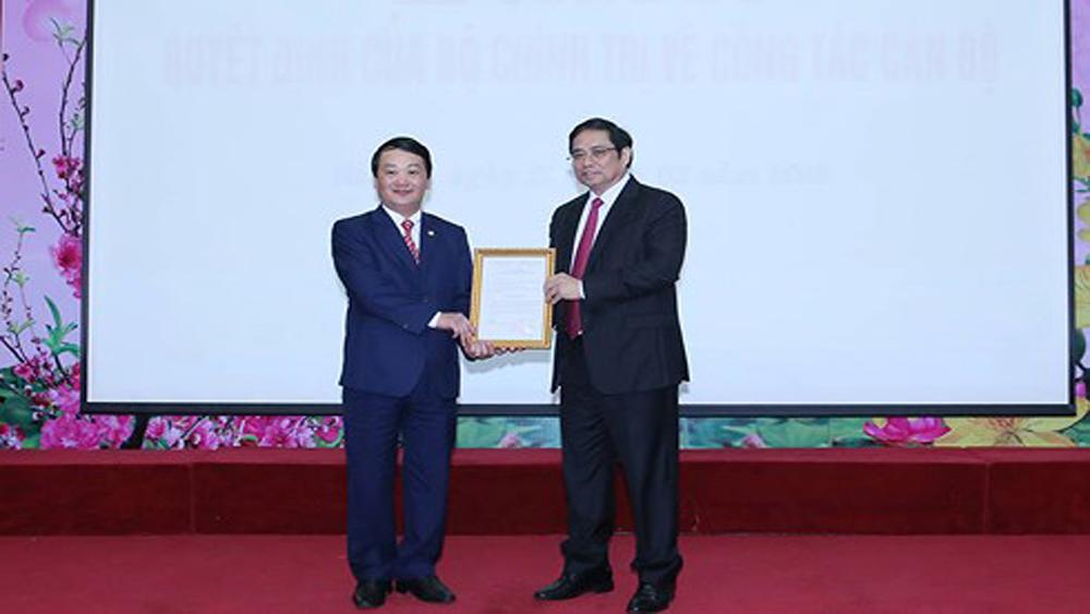 Ông Hầu A Lềnh giữ chức Phó Bí thư Đảng đoàn MTTQ Việt Nam